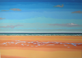 <strong>Omaha Beach</strong><br/>Acrylic on Canvas<br/>140 x 200 cm, 2002-2003
