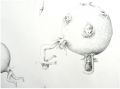 <strong>Detail (Rebirth)</strong>Pencil on Paper, 150 x 260 cm, 2003 / 2004